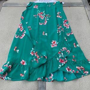 Sezane Silk skirt